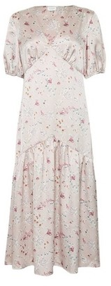 Dorothy Perkins Womens Vila Multi Colour Floral Print Skater Dress