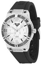 Roxy Women's RX/1005SVBK THE BLISS Black Silicone Strap Watch