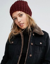 Lavand Knitted Beanie Hat