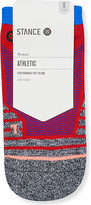 Stance Ladies Red Breathable Focus Low Training Cotton Socks