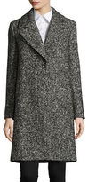 Hugo Mellis Textured Wool-Blend Coat