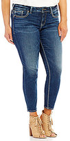 Silver Jeans Co. Silver Jeans Co Plus Suki Ankle Skinny