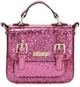 Kate Spade Scout Girls' Glittered Crossbody Bag, Pink