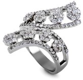 Estate 18K White Gold with 2.25ct Diamond Ring Size 9