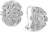 Effy Bouquet by Diamond Cluster Earrings (1-1/8 ct. t.w.) in 14k White Gold