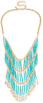 INC International Concepts M. Haskell for Gold-Tone Beaded Statement Necklace, Created for Macy's