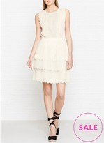 Just Cavalli Tiered Lace Dress
