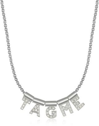 Nomination Sterling Silver and Swarovski Zirconia TagMe Necklace