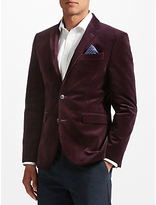 John Lewis Stretch Cord Tailored Blazer