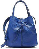 Banana Republic Italian Leather Bow Bucket Bag