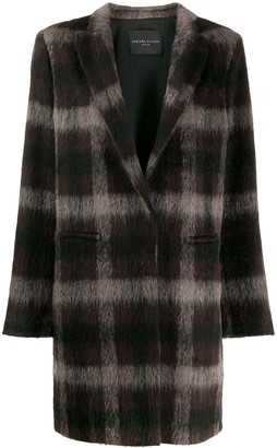 Fabiana Filippi Plaid Coat