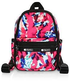 Le Sport Sac Women's x Baron Von Fancy Mini Tie-Dye Backpack