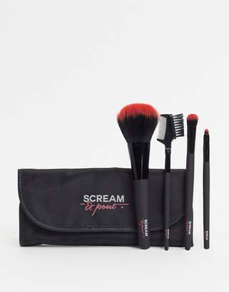 Fake Bake Fakebake Scream & Pout makeup brush set