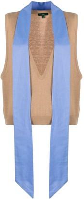 Jejia deep V-neck pullover