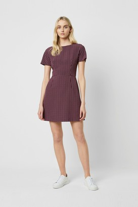 French Connection Bettina Stretch Short Sleeve Dress