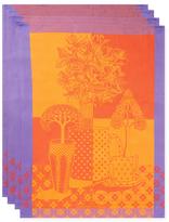 Garnier Thiebaut Cup of Tree Kitchen Towels (Set of 4)