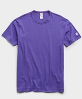 Todd Snyder + Champion Champion Basic Jersey Tee in Royal Purple