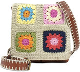 Patricia Nash Knit Squares Granada Small Crossbody