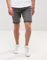 Jack & Jones Intelligence Denim Shorts In Regular Fit