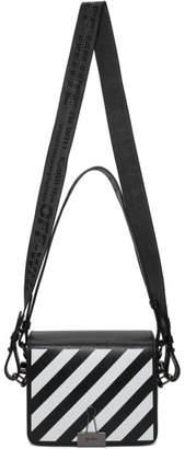 Off-White Black Diag Flap Bag
