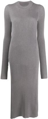Maison Margiela Asymmetric Long Knitted Jumper