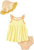 Gerber 3 Piece Dress Set (Baby) - Tiny Floral - Newborn