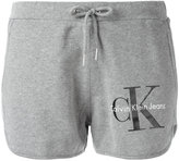 Calvin Klein Jeans logo print shorts