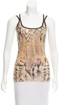 Roberto Cavalli Silk Sleeveless Top