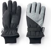 Tek Gear Boys WarmTek Heathered Ski Gloves
