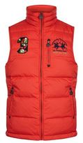 La Martina Reversible Logo Embroidered Gilet