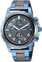 Fossil Men's FS5318 Dean Chronograph Two-Tone Stainless Steel Watch
