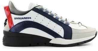 DSQUARED2 Dsuared2 551 White Navy Blue Sneaker