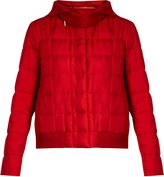 Moncler Gamme Rouge Nastya hooded silk-twill jacket