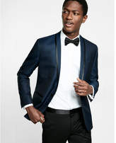 Express shawl collar wool-blend tuxedo jacket