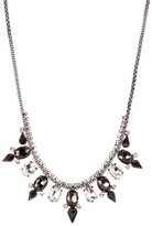 Stephan & Co Crystal Stone Statement Necklace