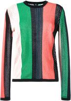 Paul Smith round neck striped jumper - women - Cotton - XL