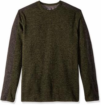 Van Heusen Men's Big and Tall Flex Sweater Fleece Crew