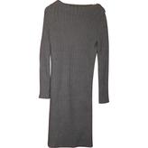 Louis Vuitton Long, wool dress.
