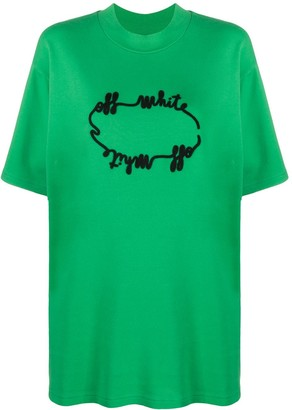 Off-White logo cotton T-shirt