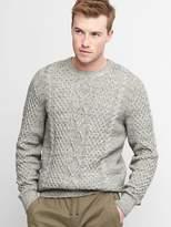 Gap Cableknit crewneck sweater