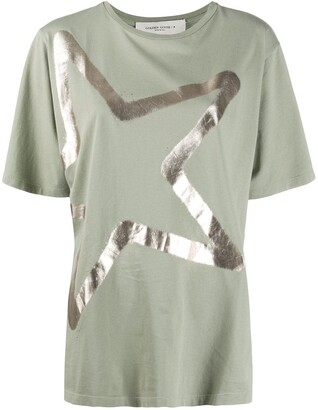 Golden Goose star-print cotton T-shirt
