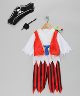Rubie's Costume Co Red Pirate Dress-Up Set - Kids