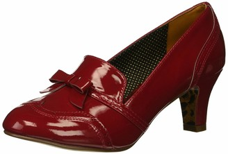 Bettie Page Women's BP250-SADEY Uniform Dress Shoe