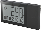 Oregon Scientific Alize Weather Station Advanced Clock, Black