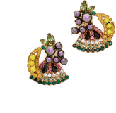 Elizabeth Cole Petite Fruit Salad Earrings