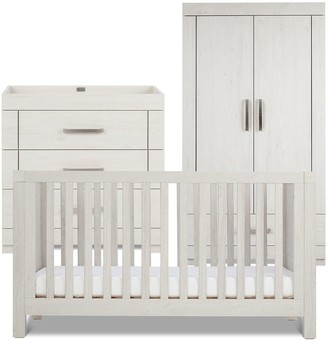 Silver Cross Coastline Cot Bed, Dresser, Wardrobe