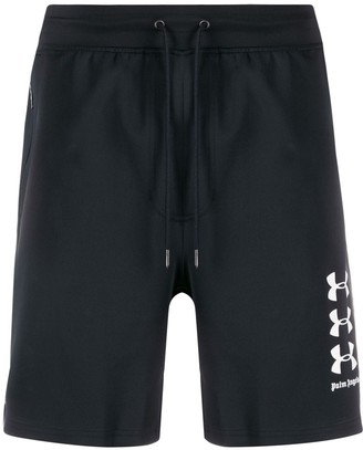 Palm Angels x Under Armour logo shorts