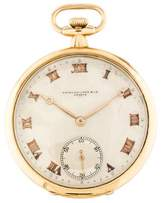 Patek Philippe 18K Pocket Watch