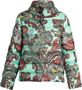 Etro Paisley-print quilted down jacket