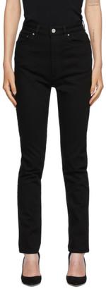 Totême Black New Standard Jeans